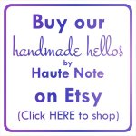 Handmade Hellos by Haute Note - One-of-a-Kind Handmade Note and Art Cards - Available for purchase on ETSY - HandmadeHellos.ca
