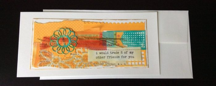 Handmade Hellos - one of a kind handmade cards - by Lorie Gray of Haute Note